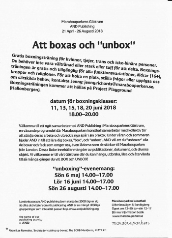 AND Boxing and Unboxing poster swedish.jpg